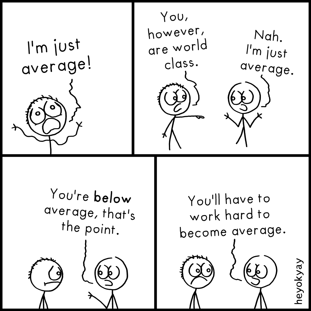 Average   heyokyay