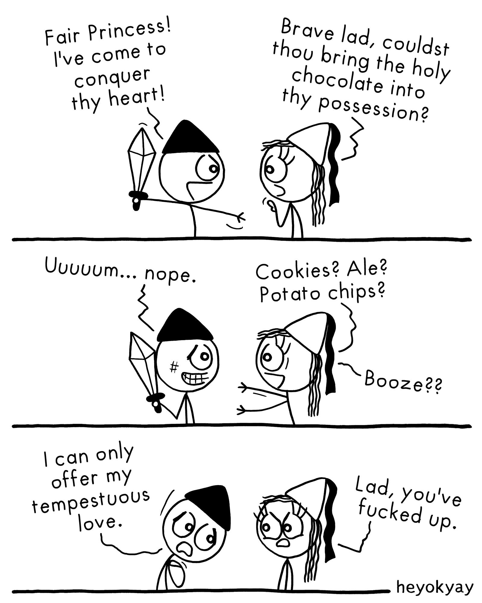 Conquest heyokyay comic