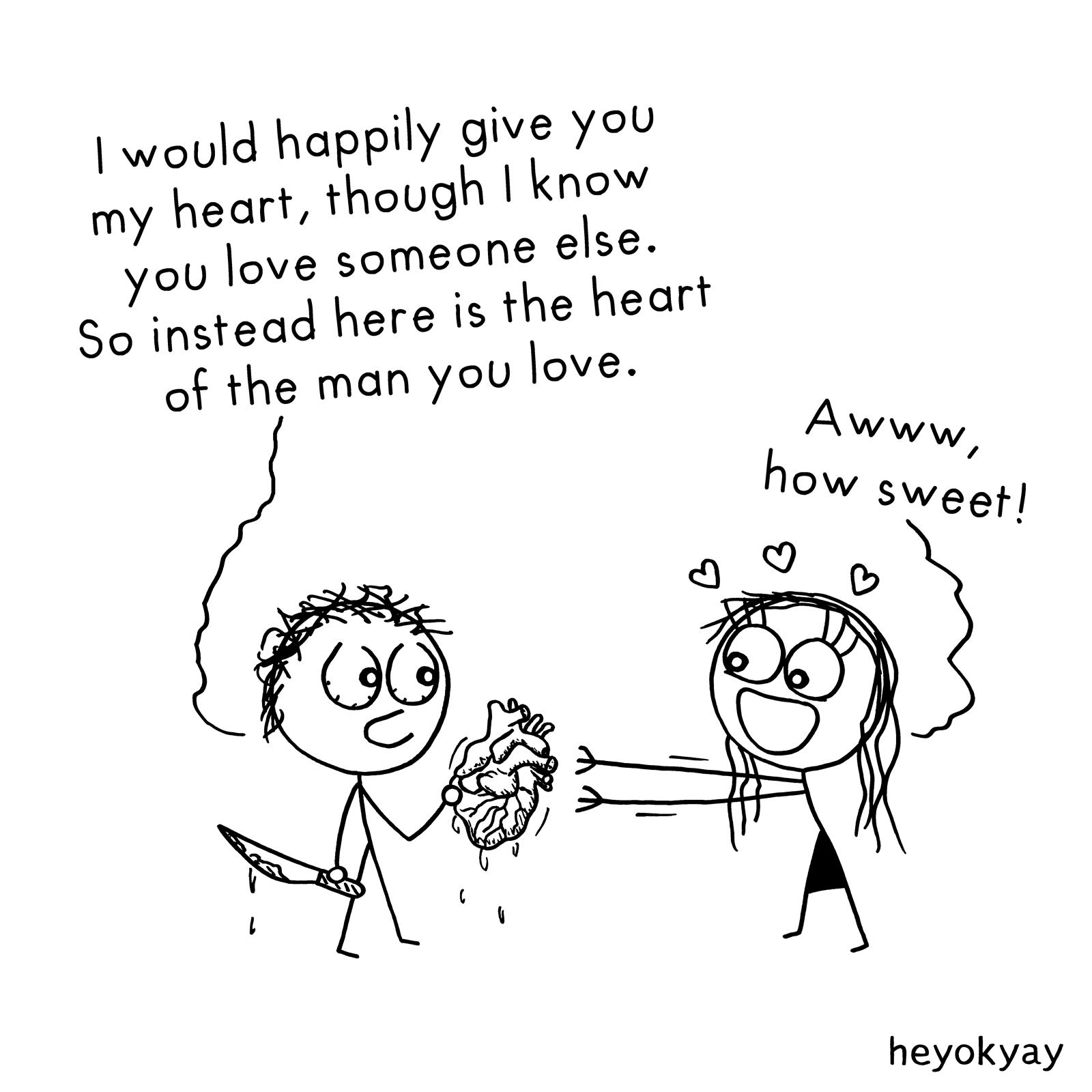 Gift heyokyay comic