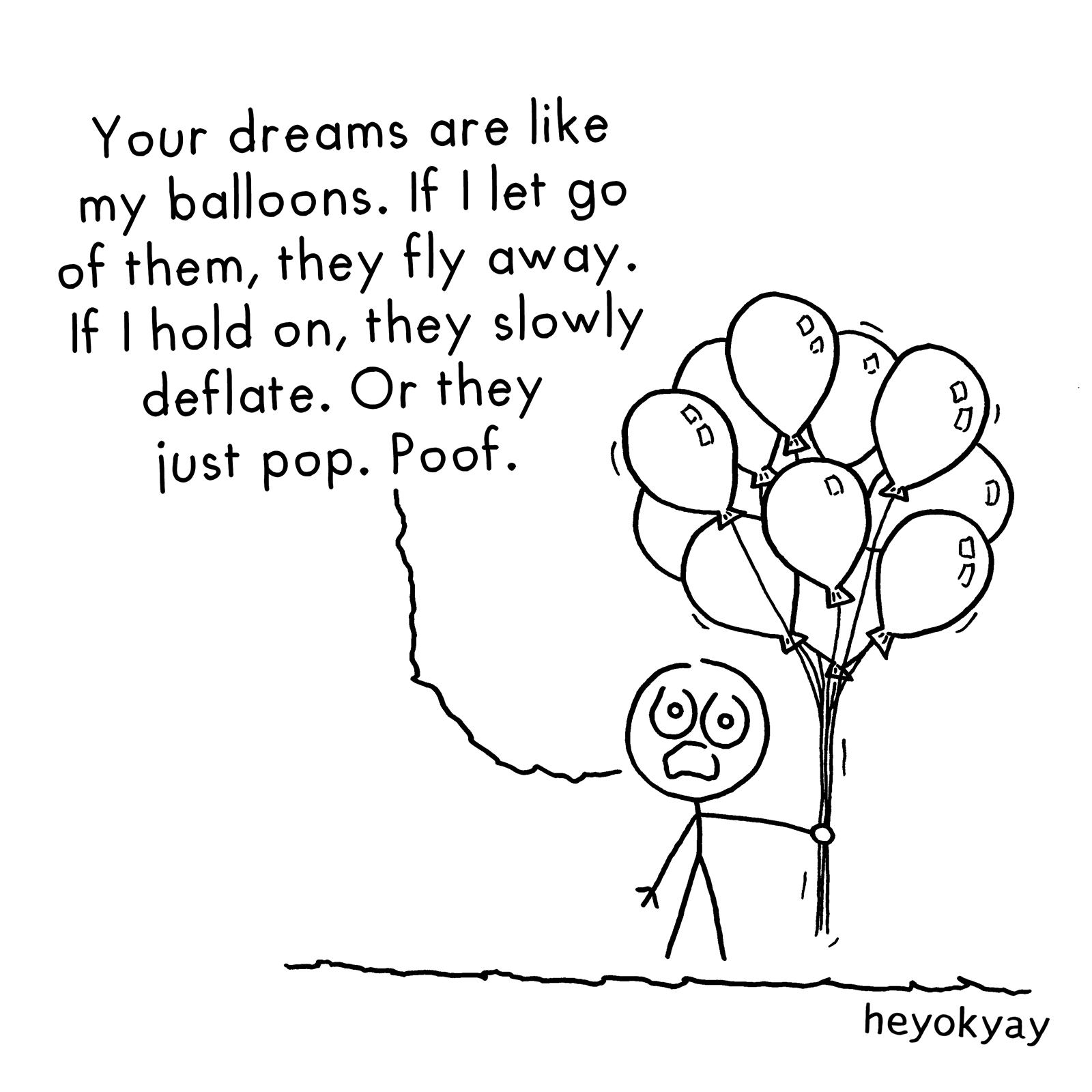 Balloons heyokyay comic
