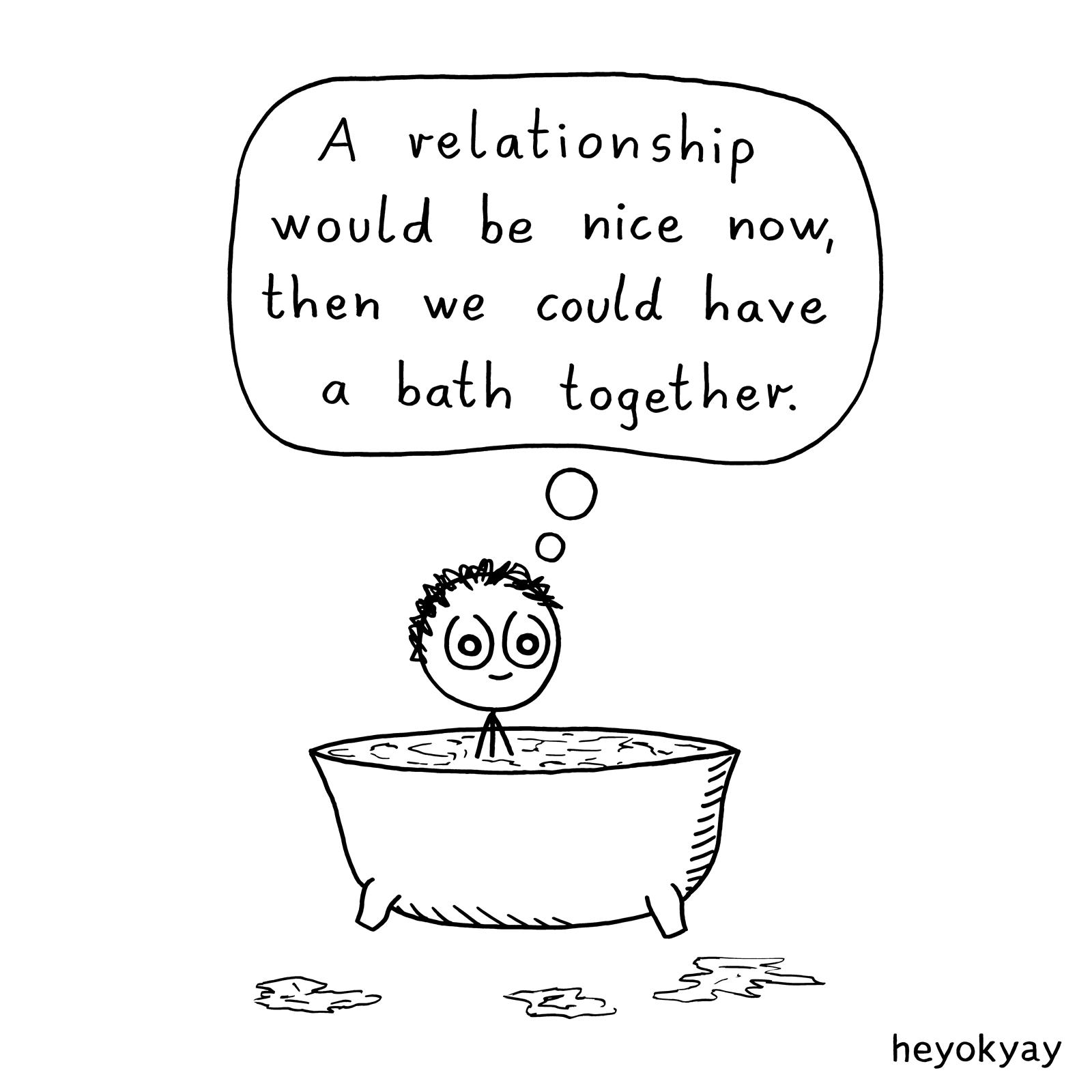 Bath heyokyay comic