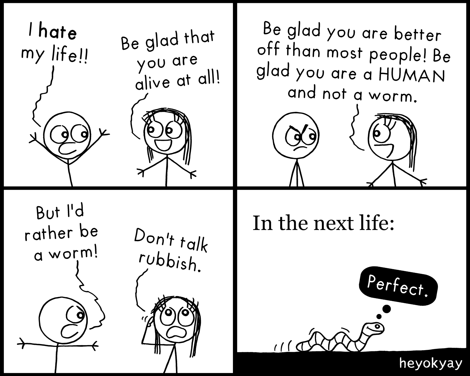Be Glad! heyokyay comic