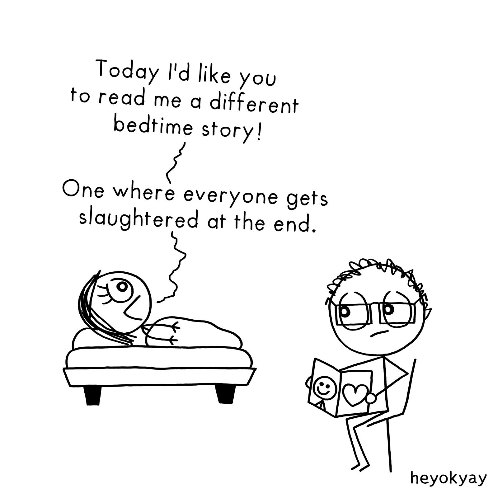 Bedtime Story heyokyay comic