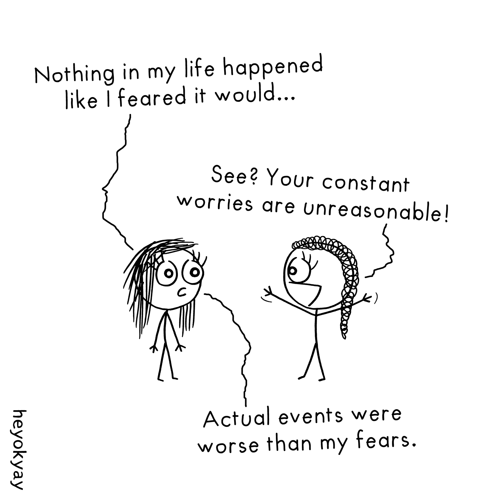 Constant Worries heyokyay comic
