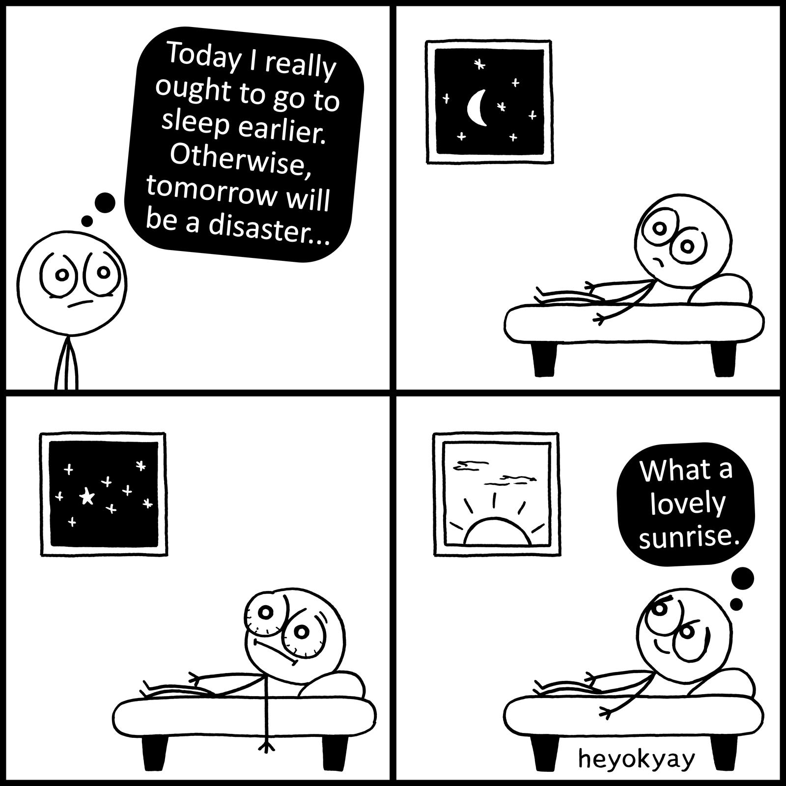 Disaster heyokyay comic