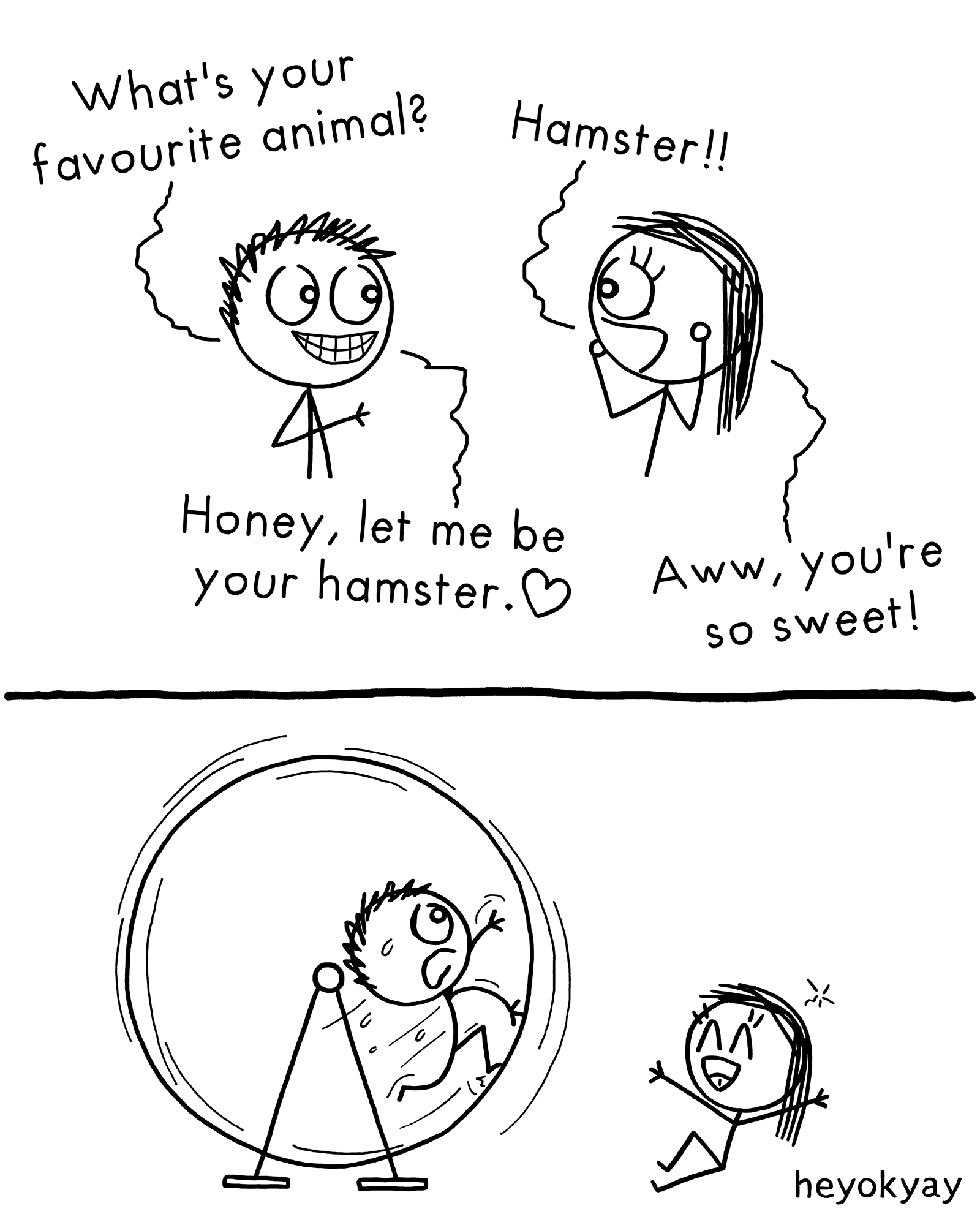 Favourite Animal heyokyay comic