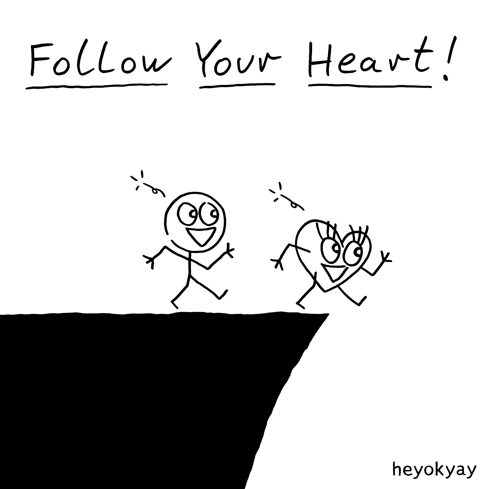 Follow Your Heart! heyokyay comic