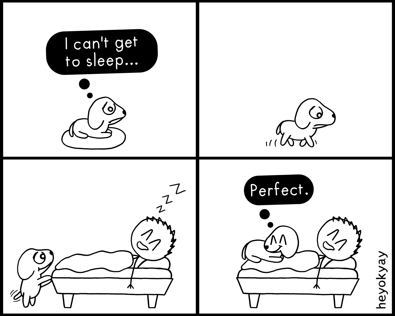 Get To Sleep heyokyay comic