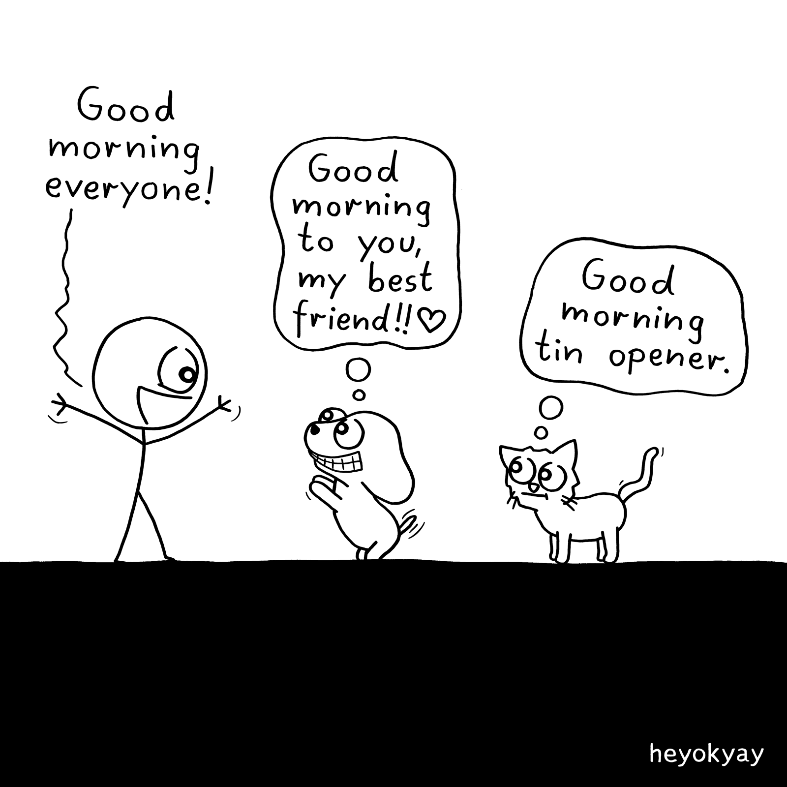 Good Morning! heyokyay comic