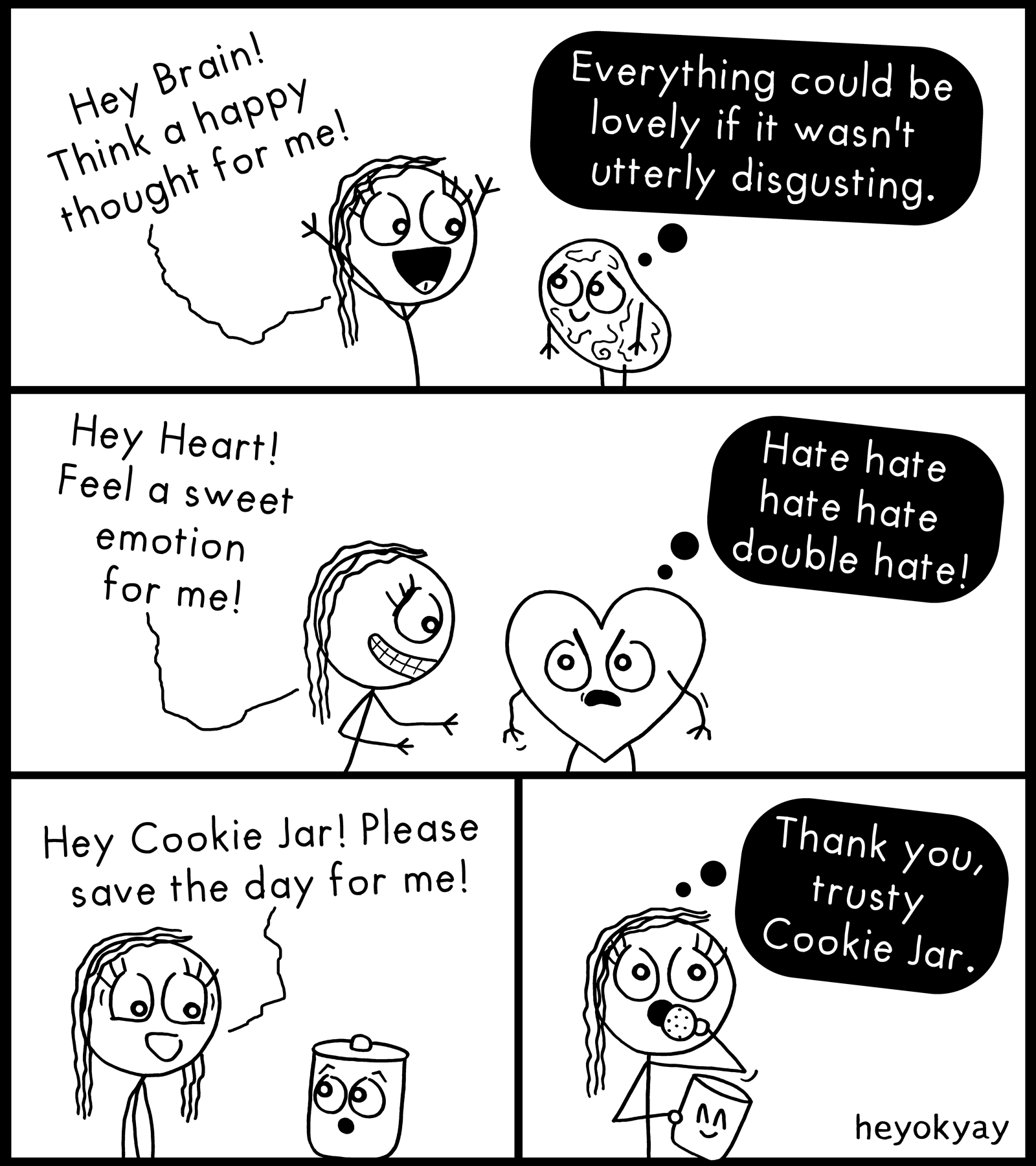 Happy heyokyay comic