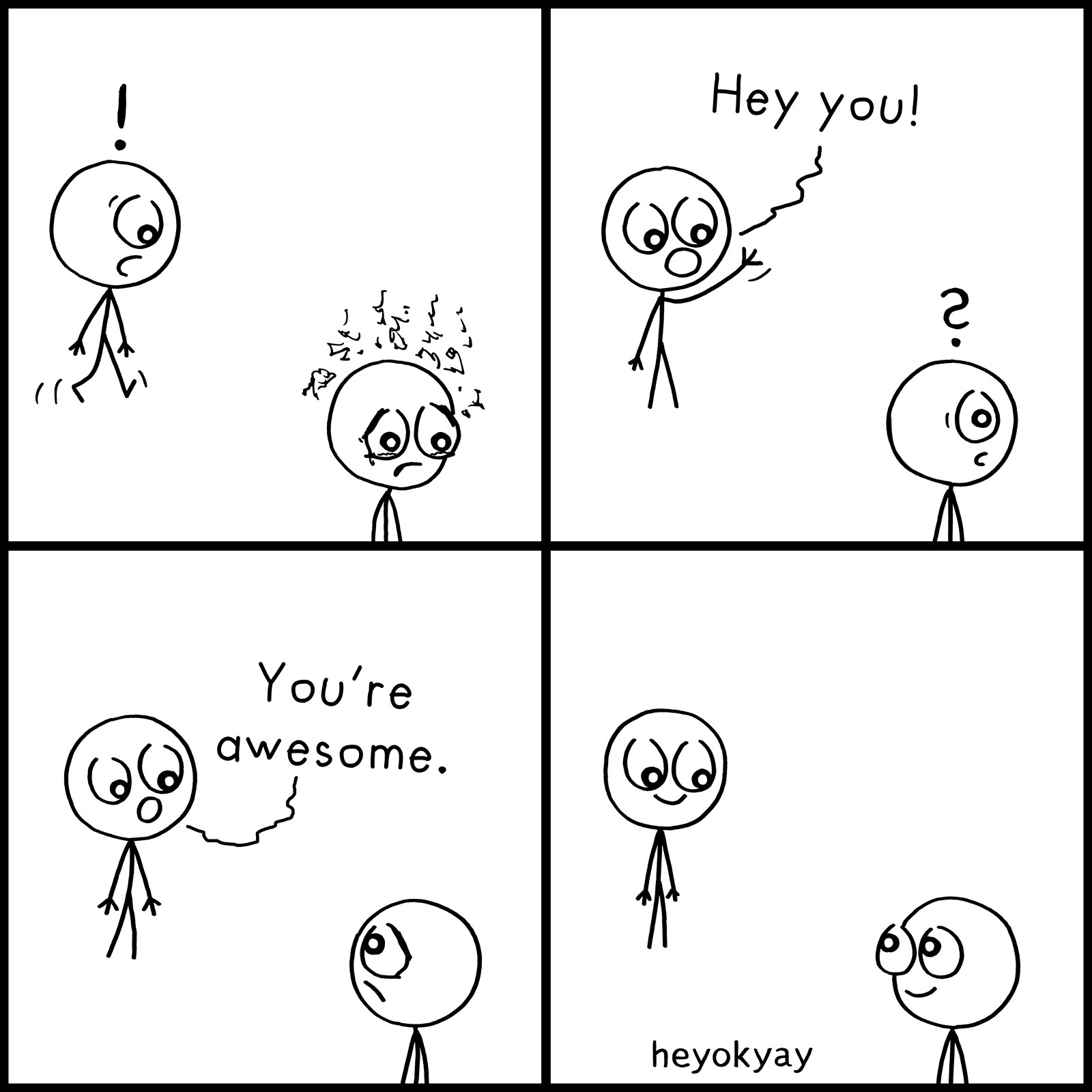 Hey You heyokyay comic