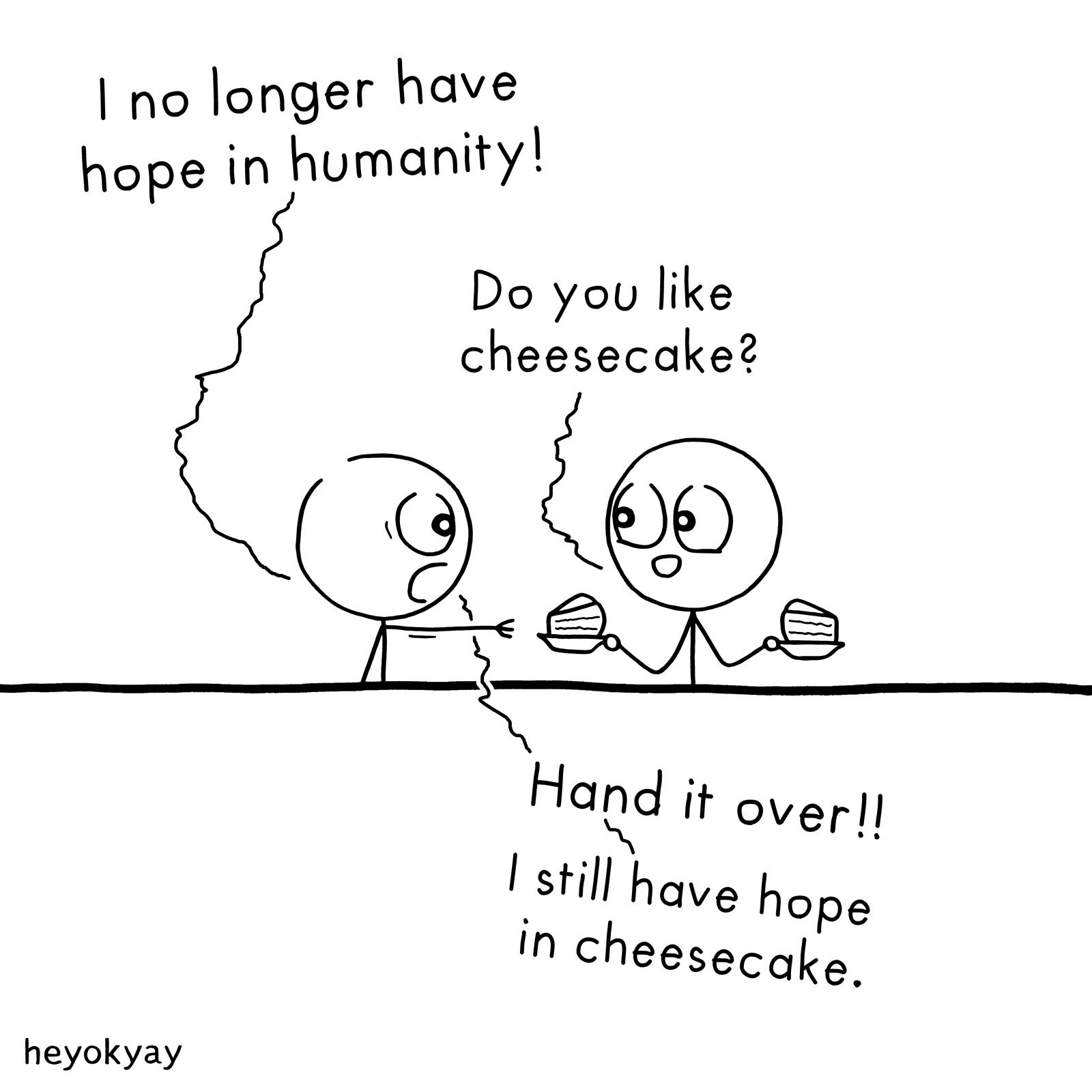 Hope heyokyay comic