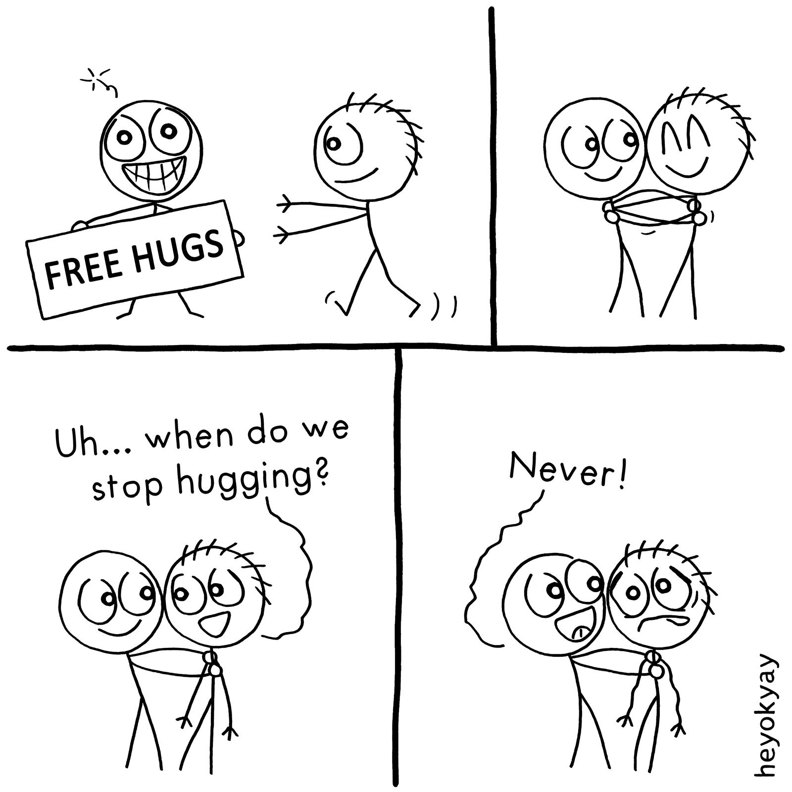 Hug heyokyay comic