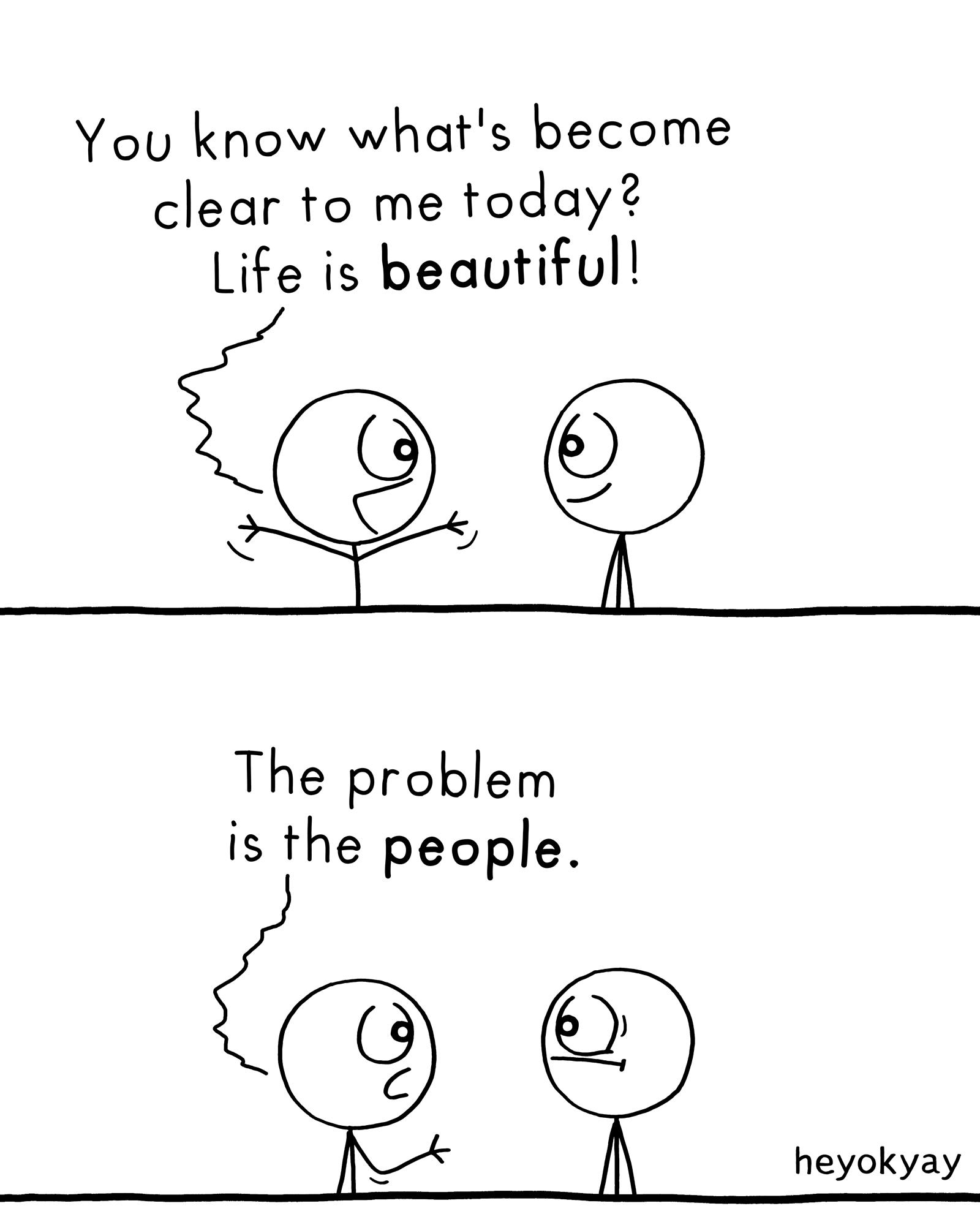 Life heyokyay comic