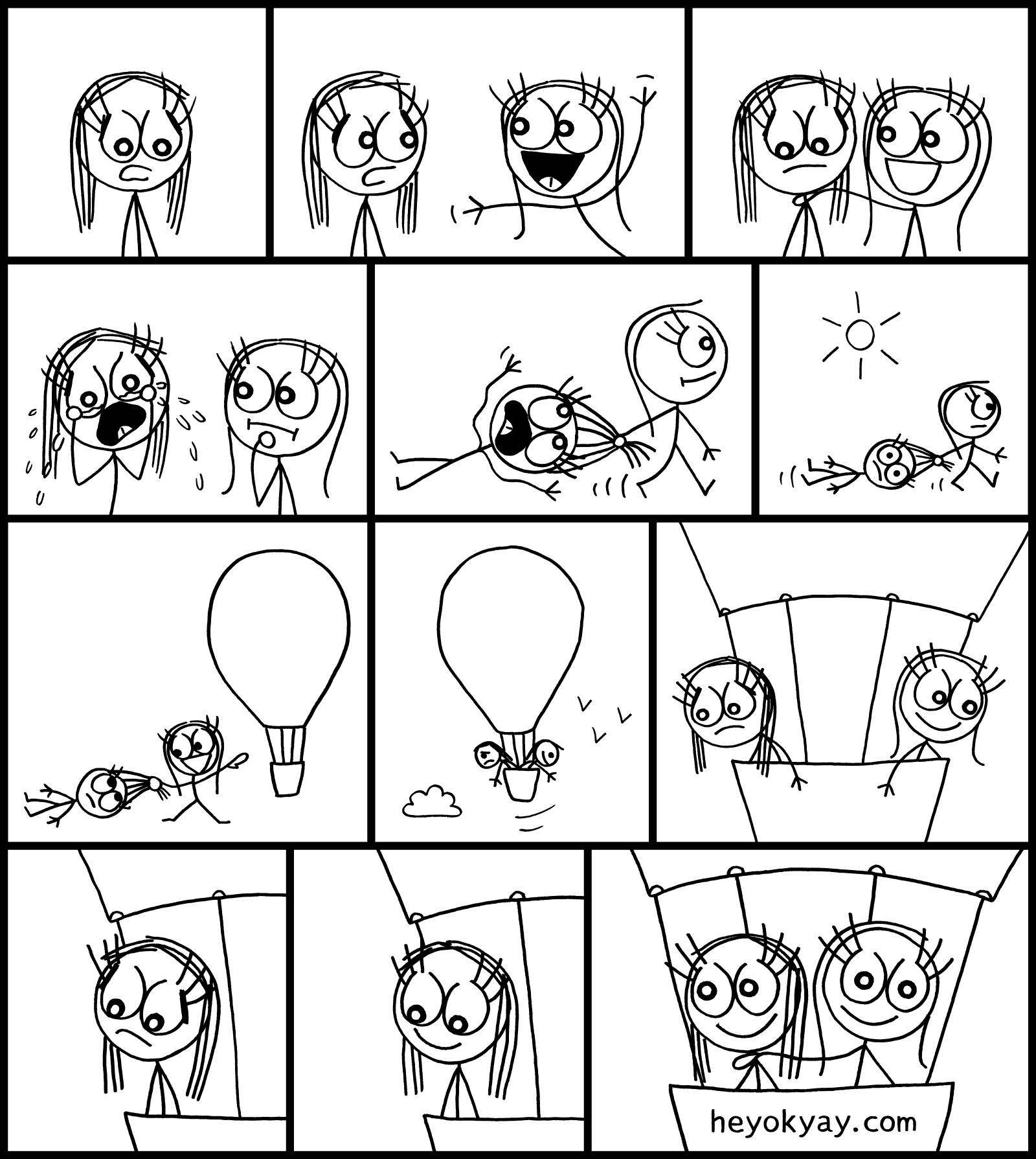 Liftoff heyokyay comic