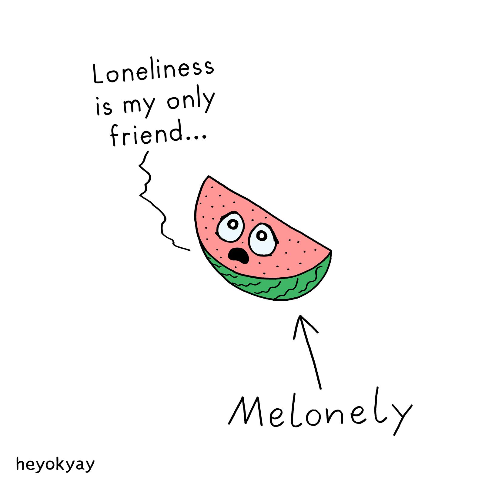 Melonely heyokyay comic