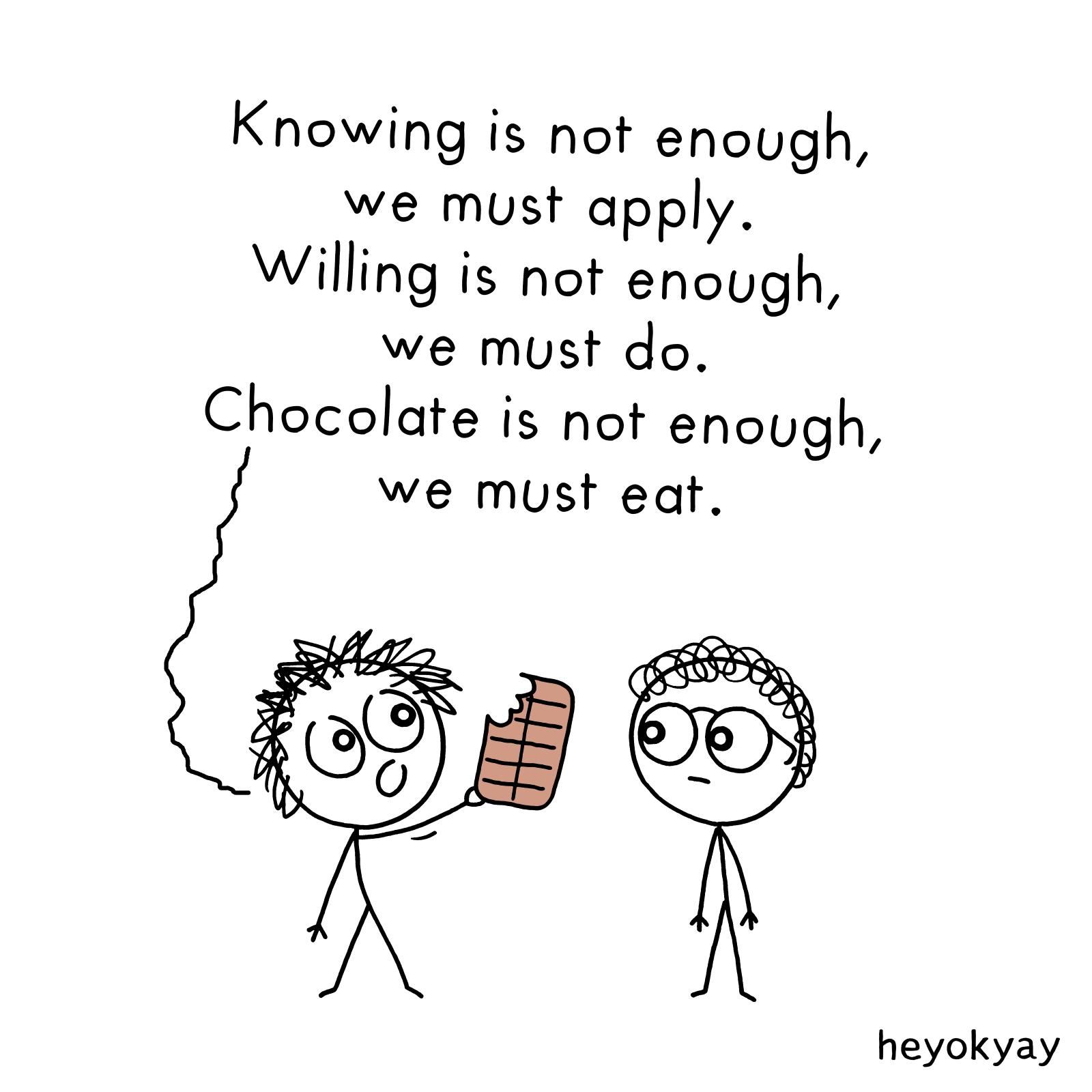 Not Enough heyokyay comic