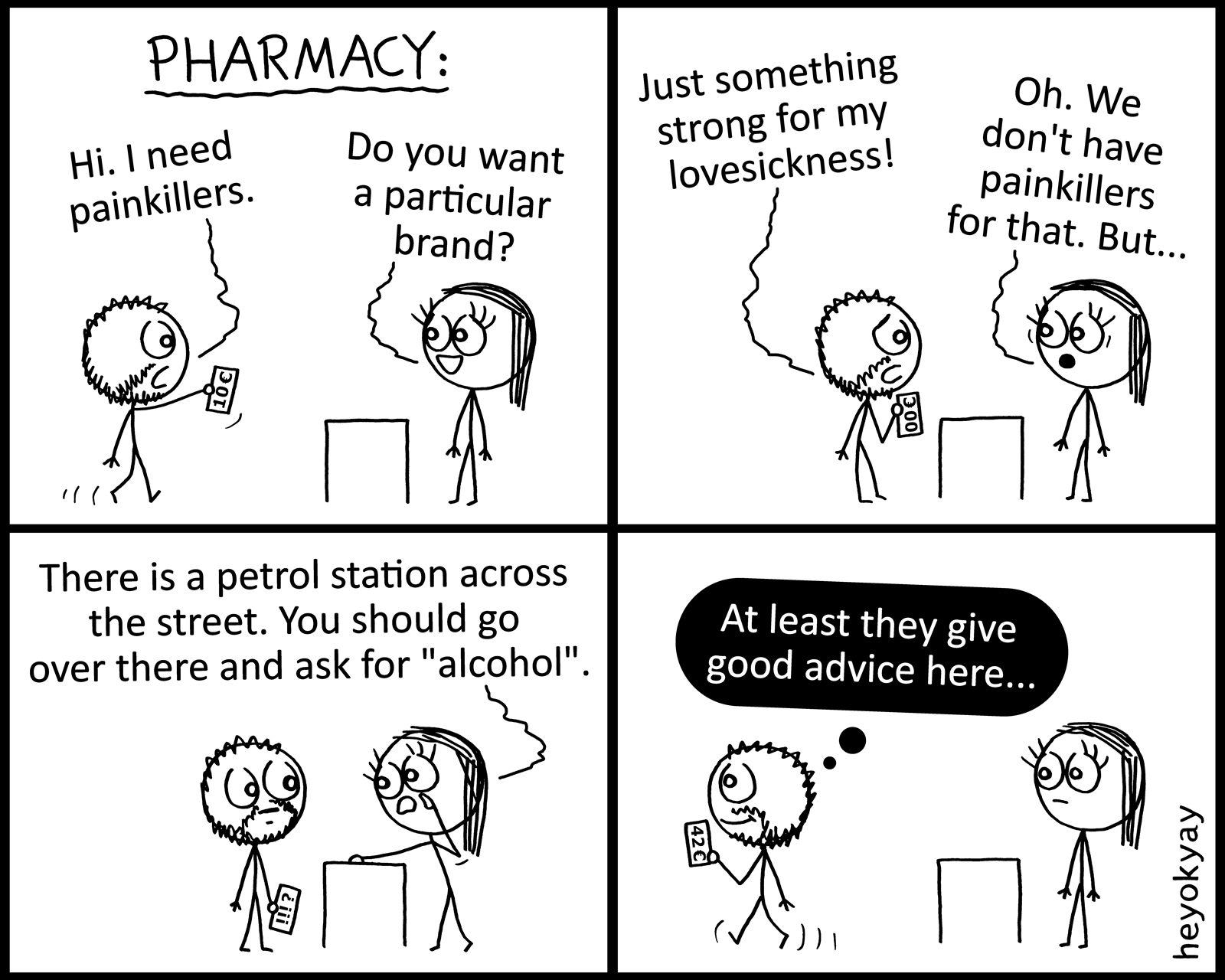 Pharmacy heyokyay comic