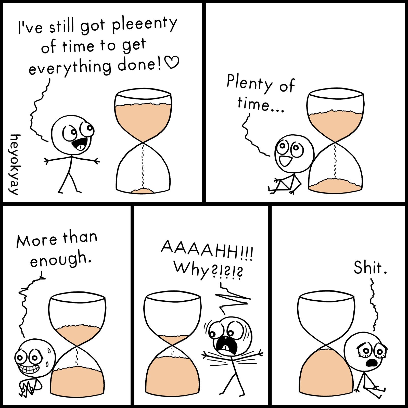 Plenty Of Time heyokyay comic
