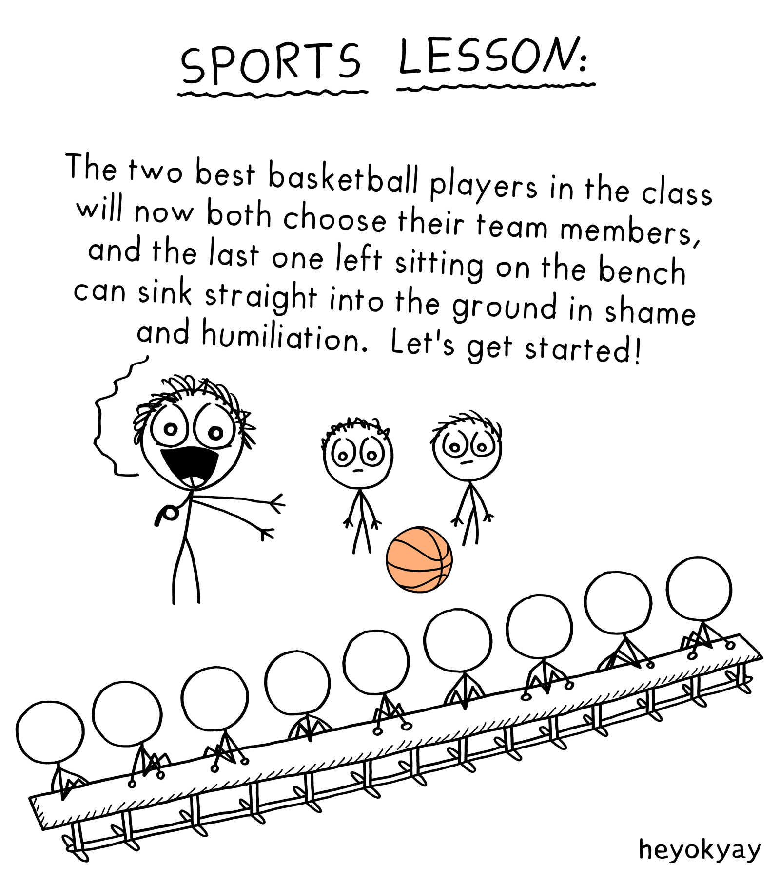 Sports Lesson heyokyay comic