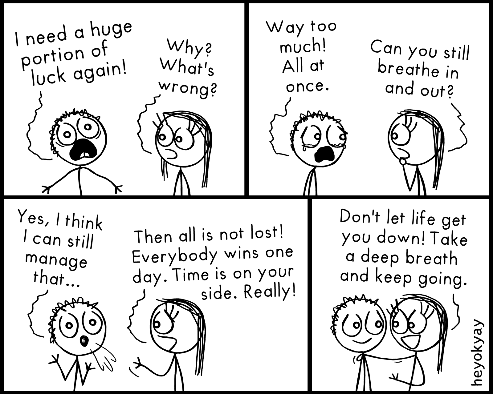 Still Breathing heyokyay comic