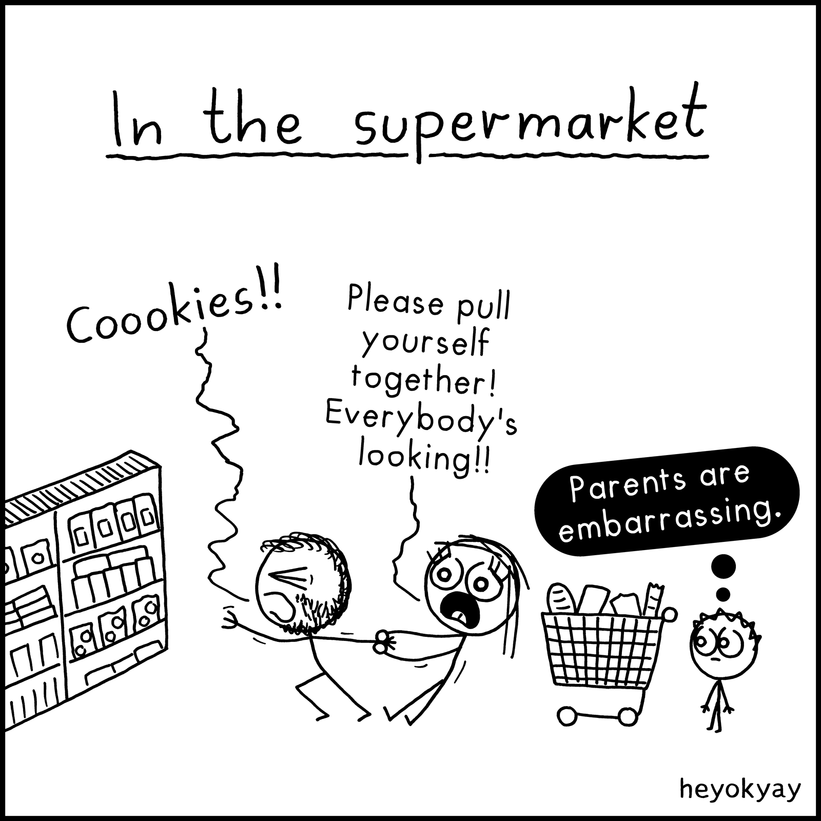 Supermarket heyokyay comic
