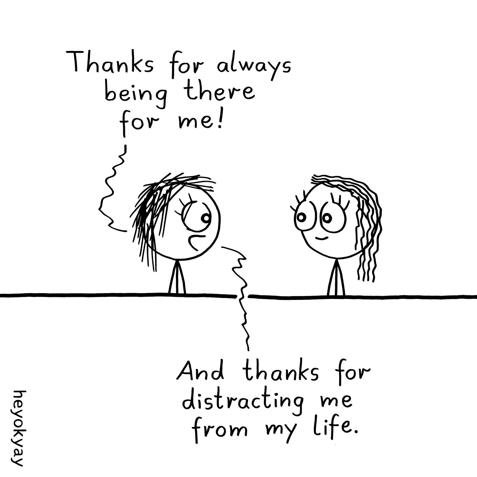 Thanks heyokyay comic