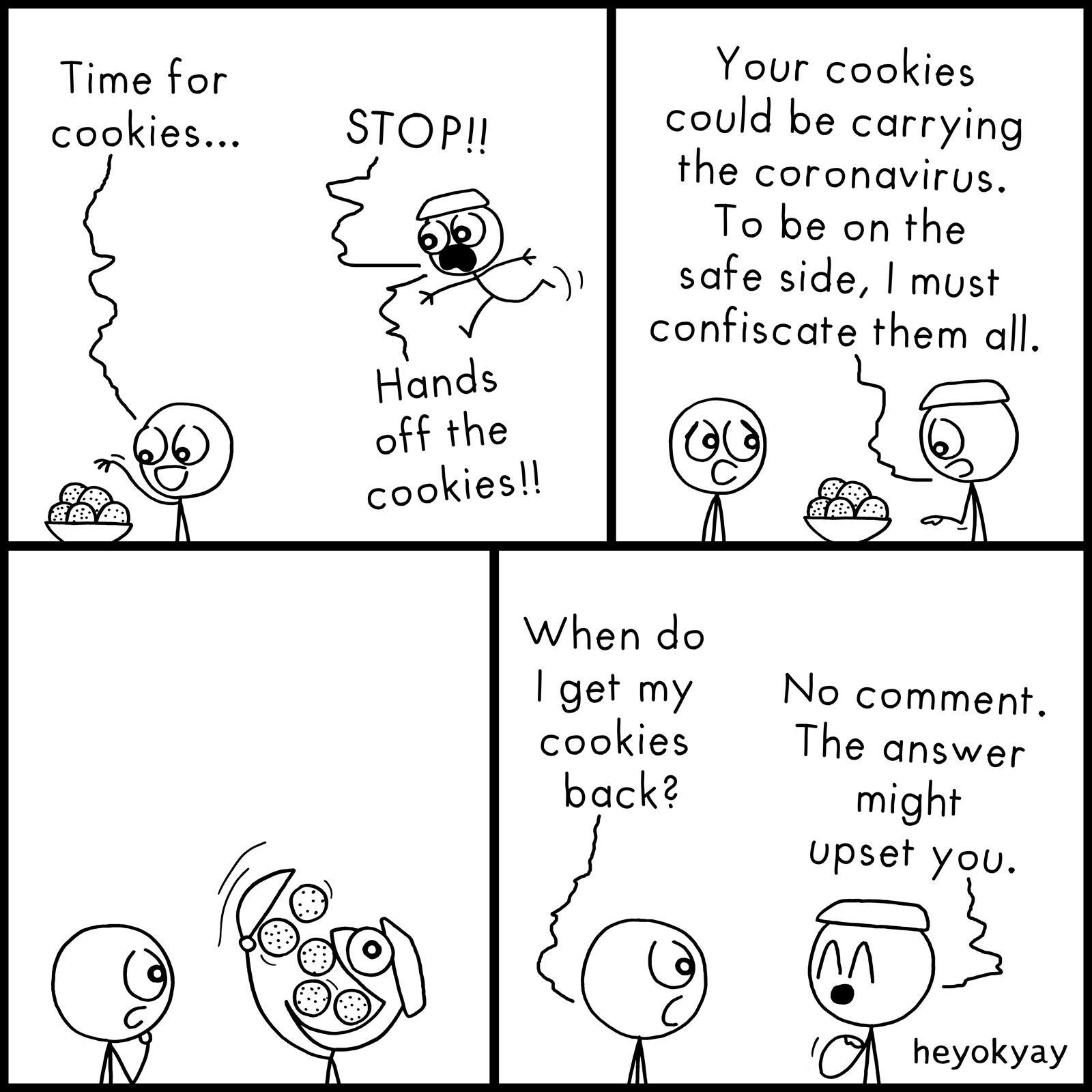 Time For Cookies heyokyay comic