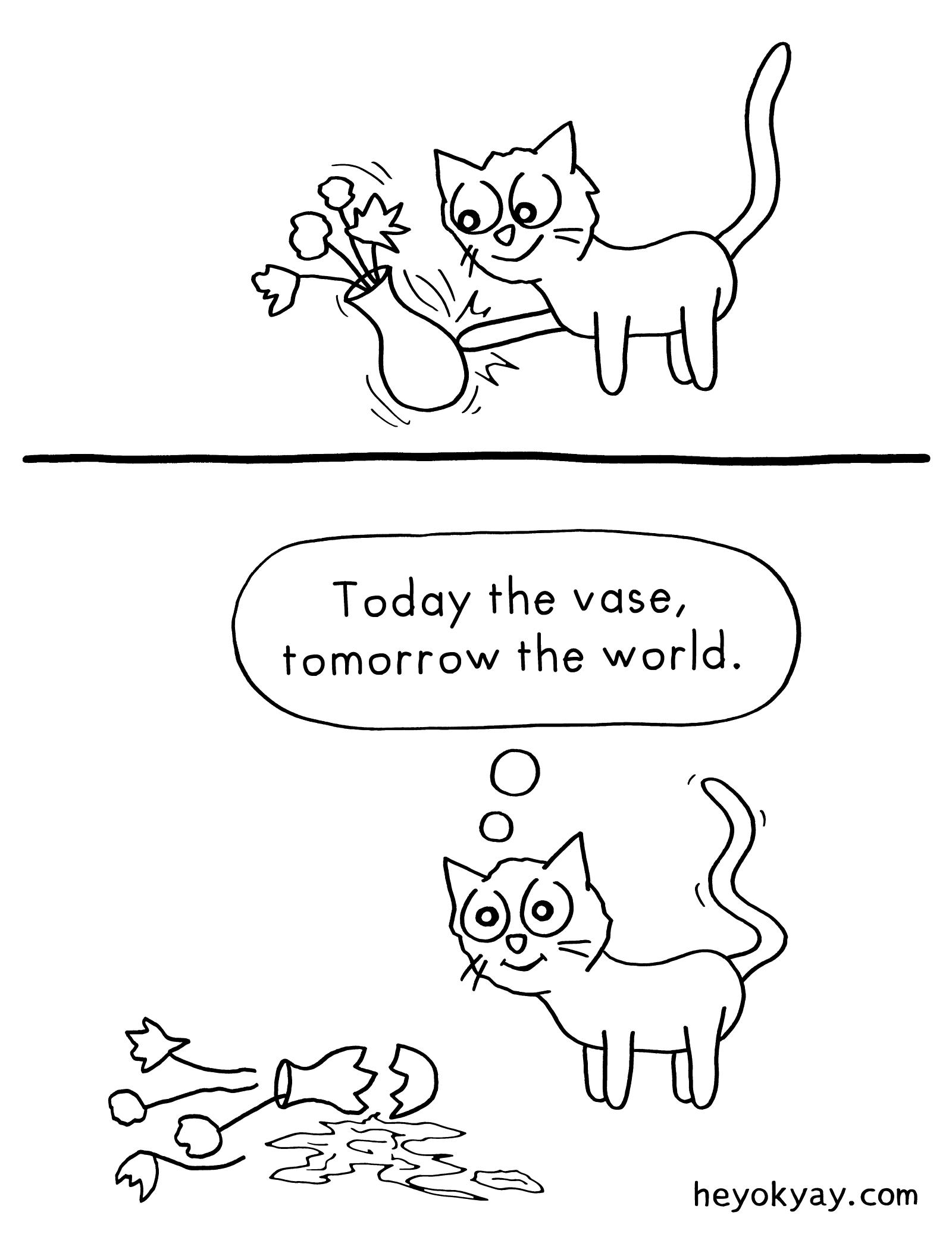 Vase heyokyay comic