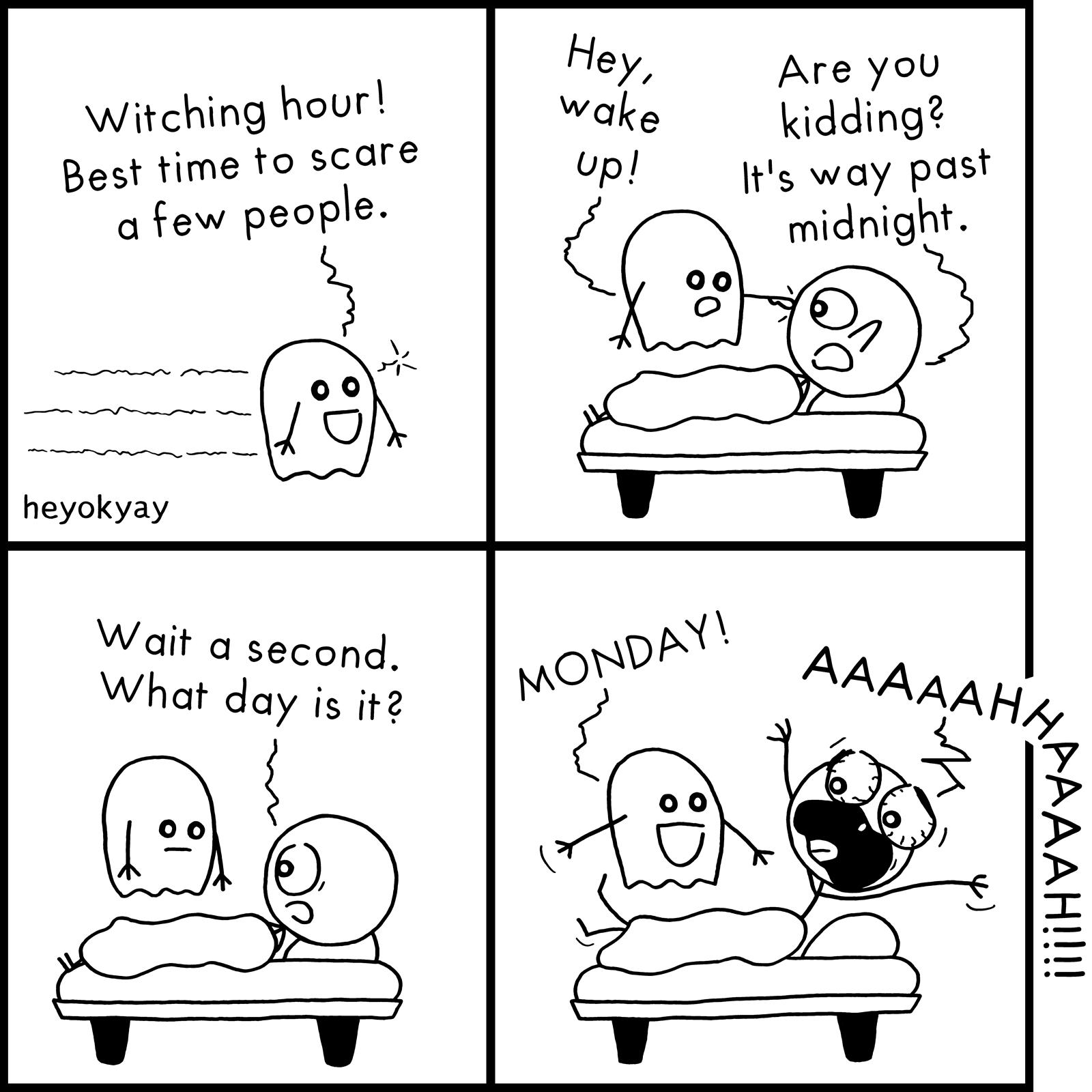 Witching Hour heyokyay comic