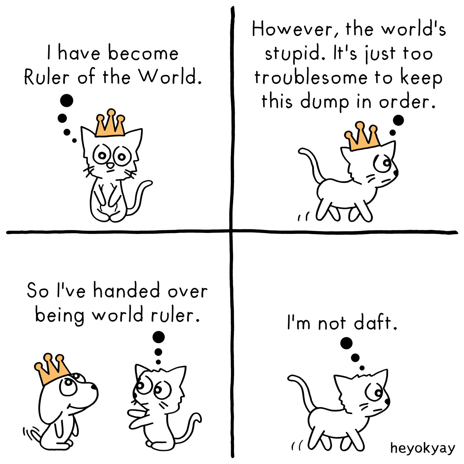 World Domination heyokyay comic