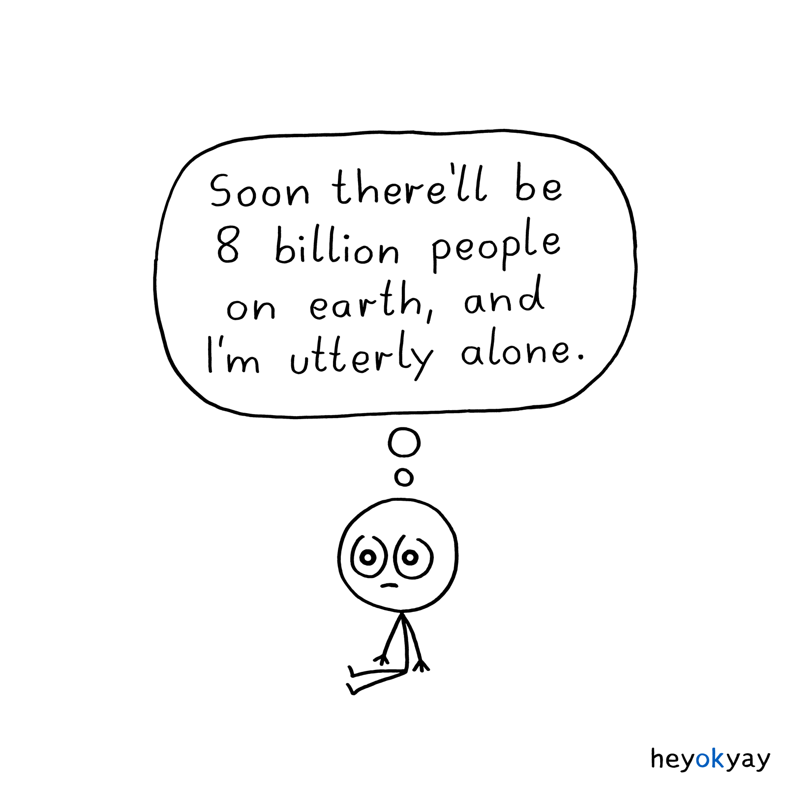 8 Billion heyokyay comic