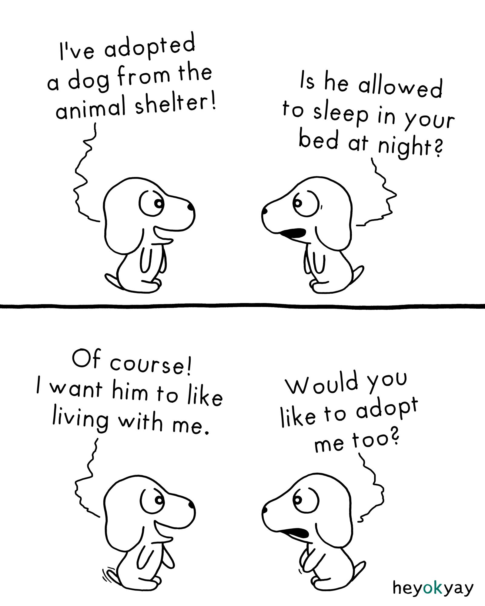 Adoption heyokyay comic
