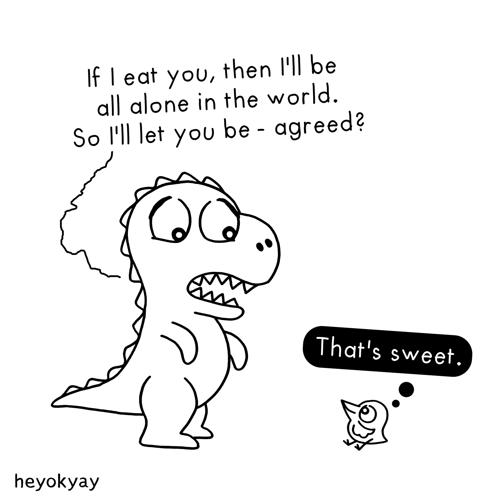 All Alone heyokyay comic