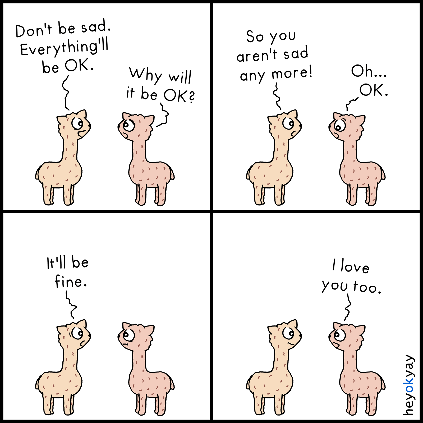 Be OK heyokyay comic