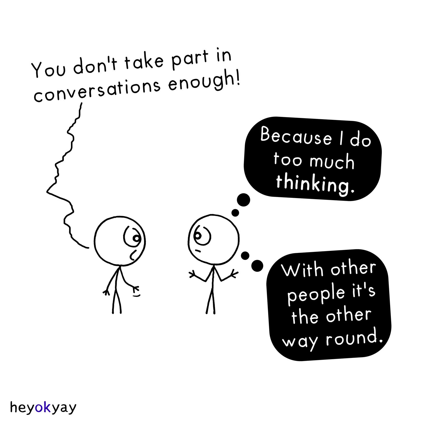 Conversations heyokyay comic