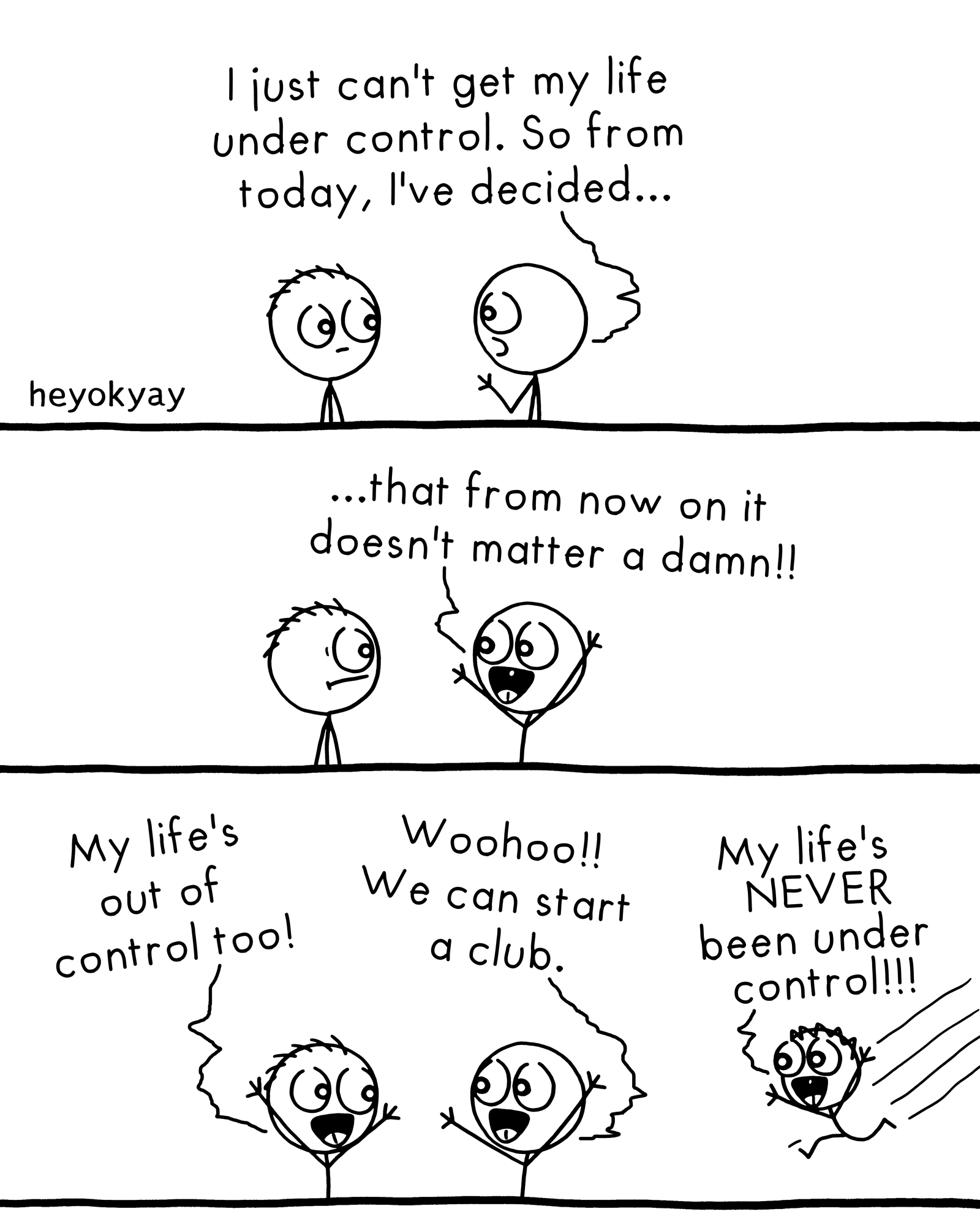 Doesn't Matter heyokyay comic