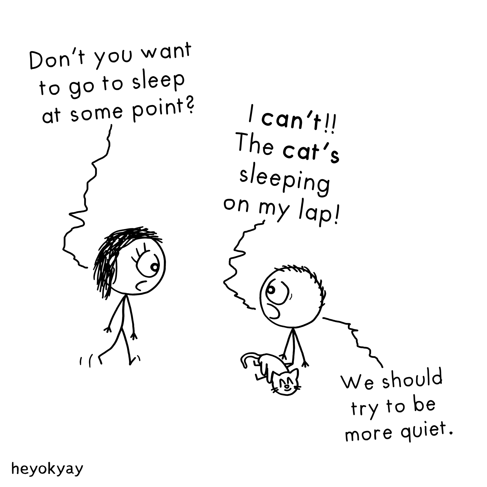 Go To Sleep heyokyay comic