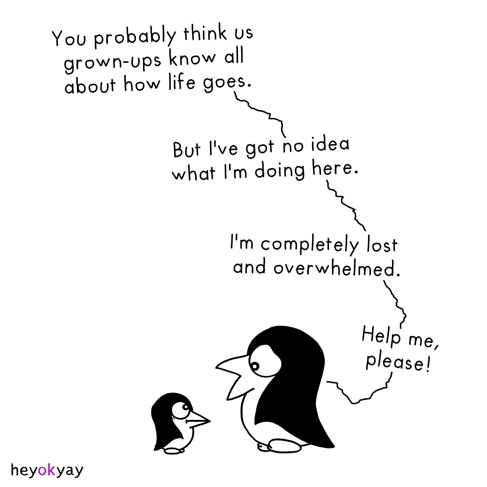 Grown-Ups heyokyay comic