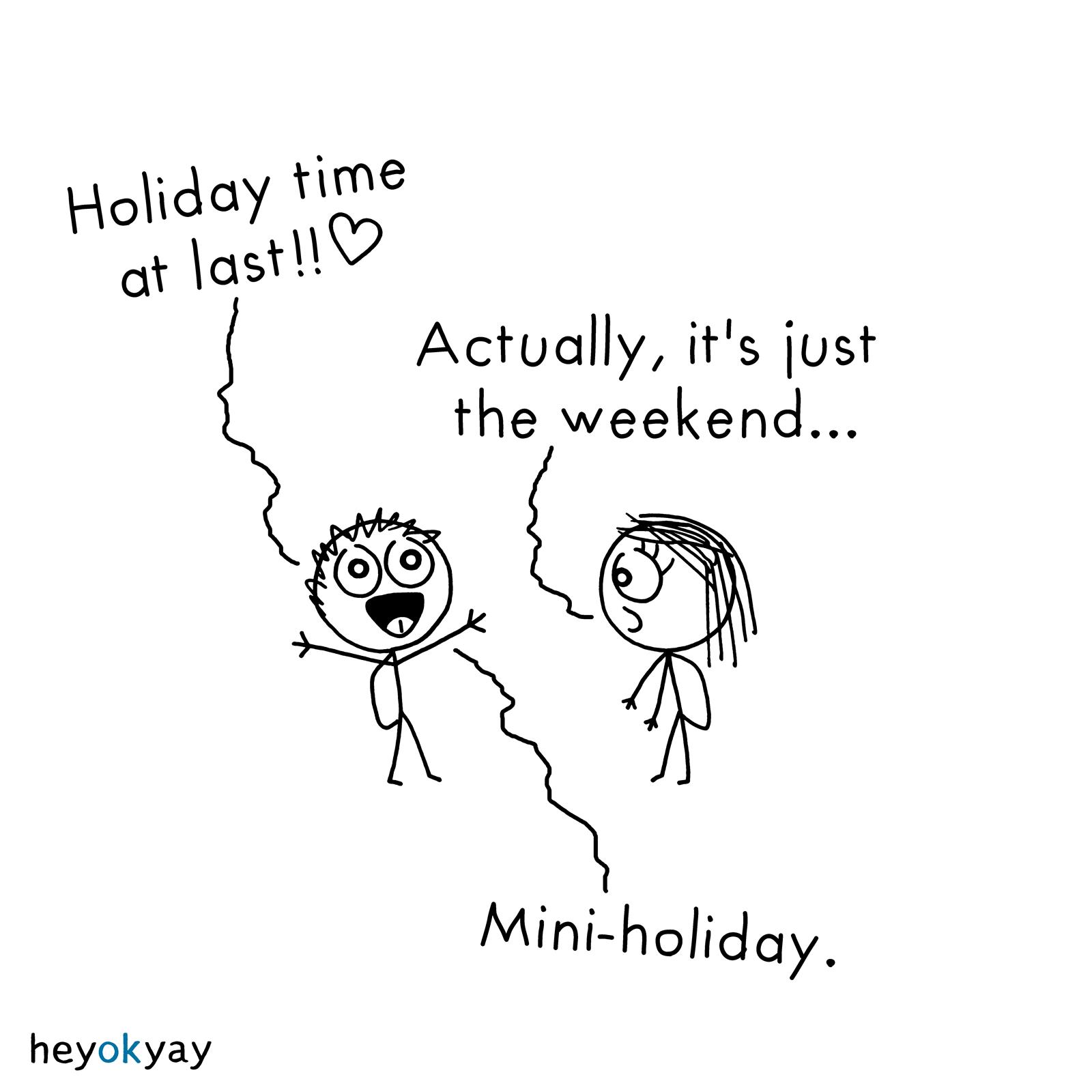 Holidays heyokyay comic