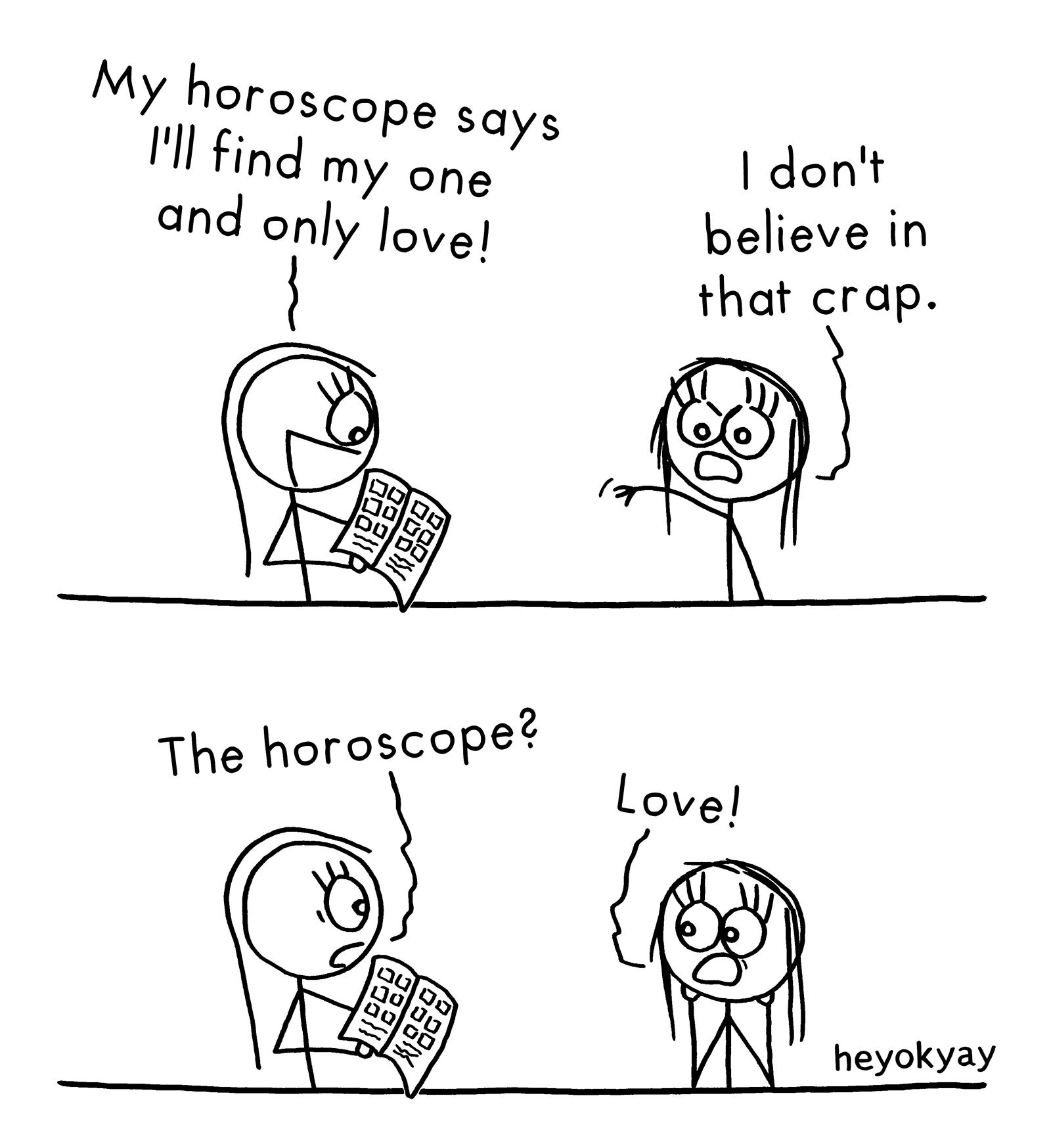 Horoscope heyokyay comic