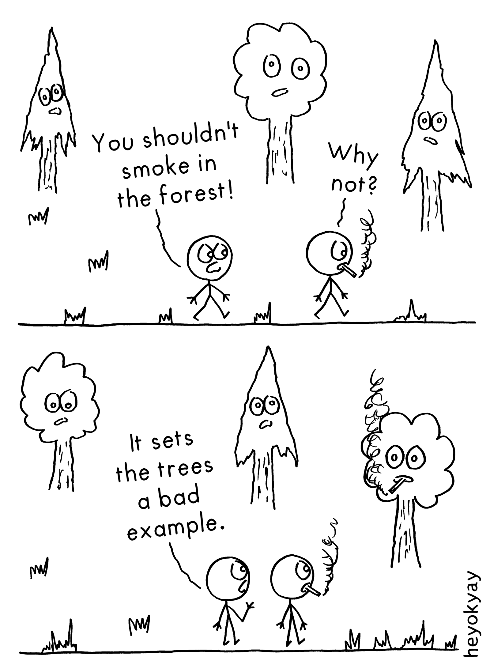 In The Forest heyokyay comic