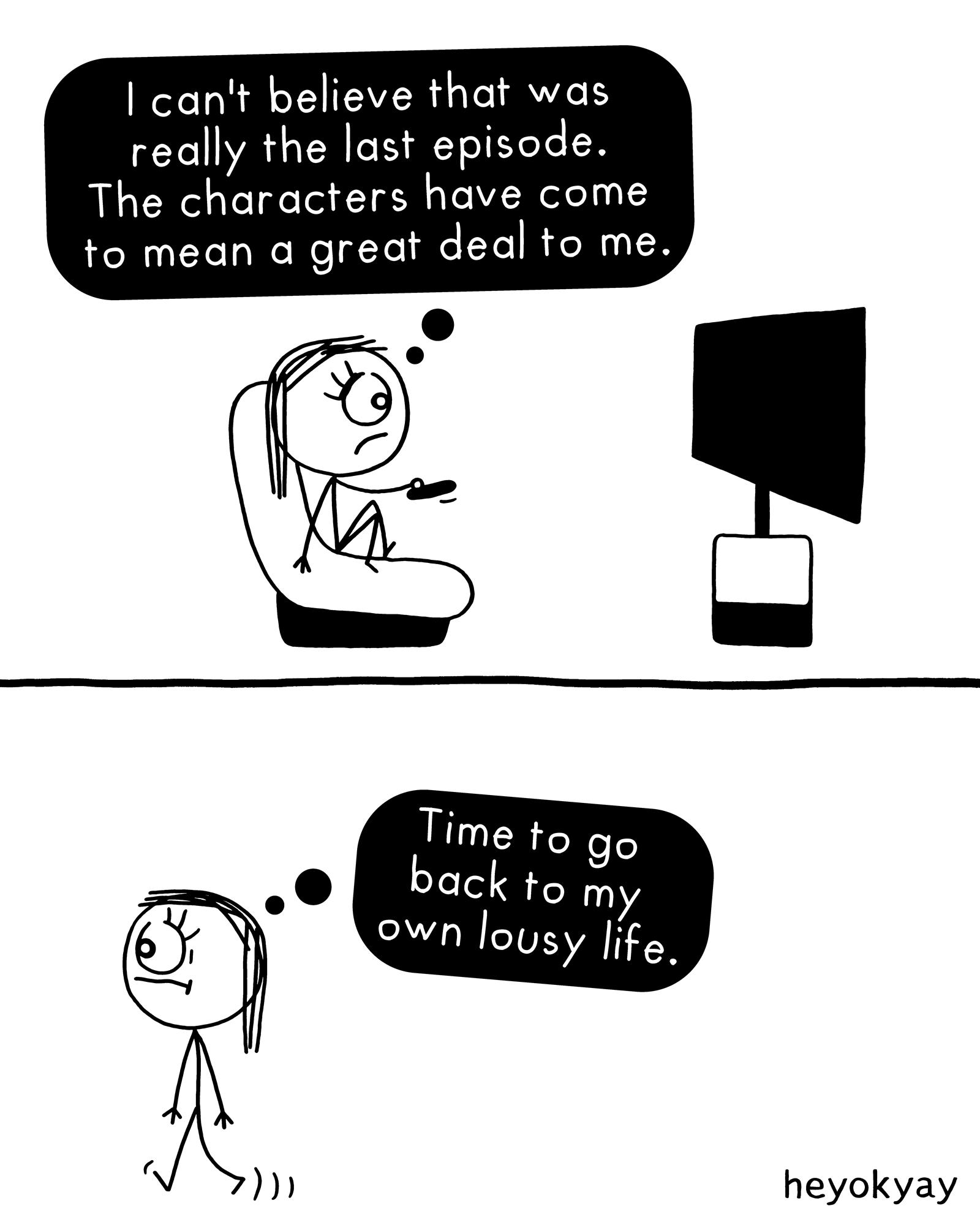 Last Episode heyokyay comic