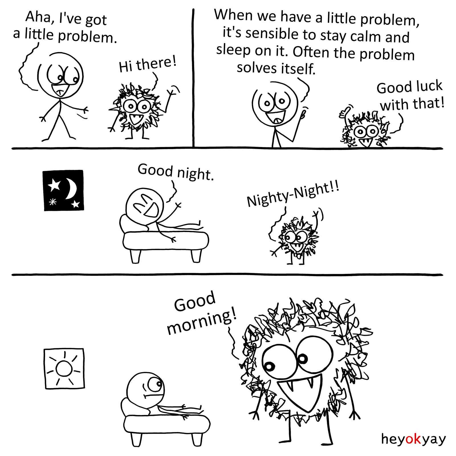 Little Problem heyokyay comic