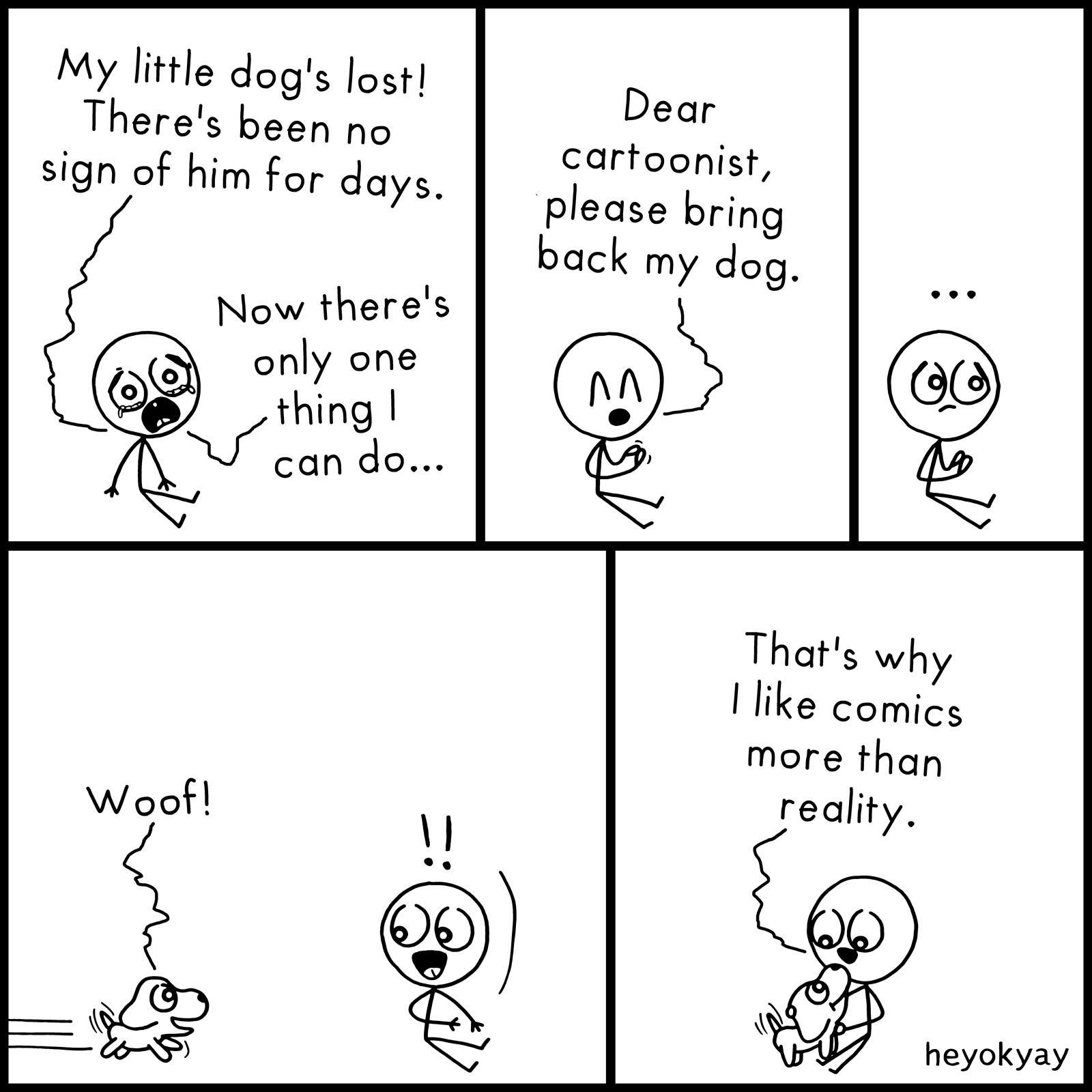Meta heyokyay comic