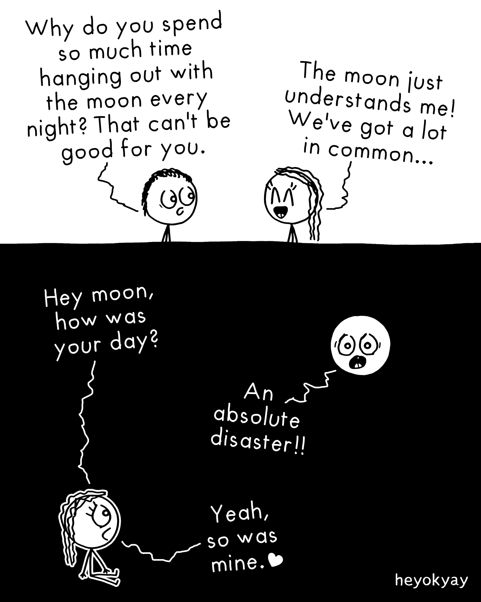 Moon heyokyay comic