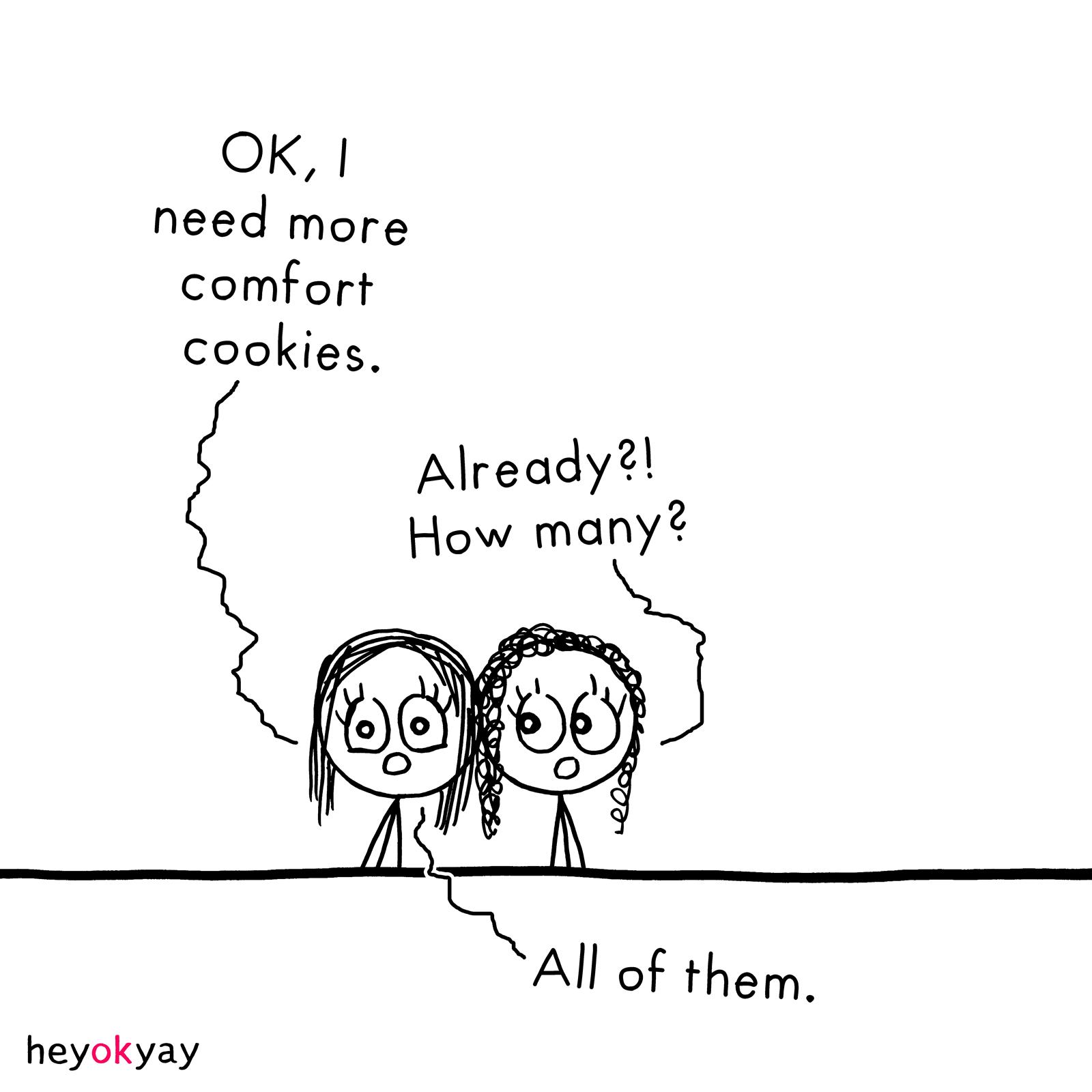 More Cookies heyokyay comic