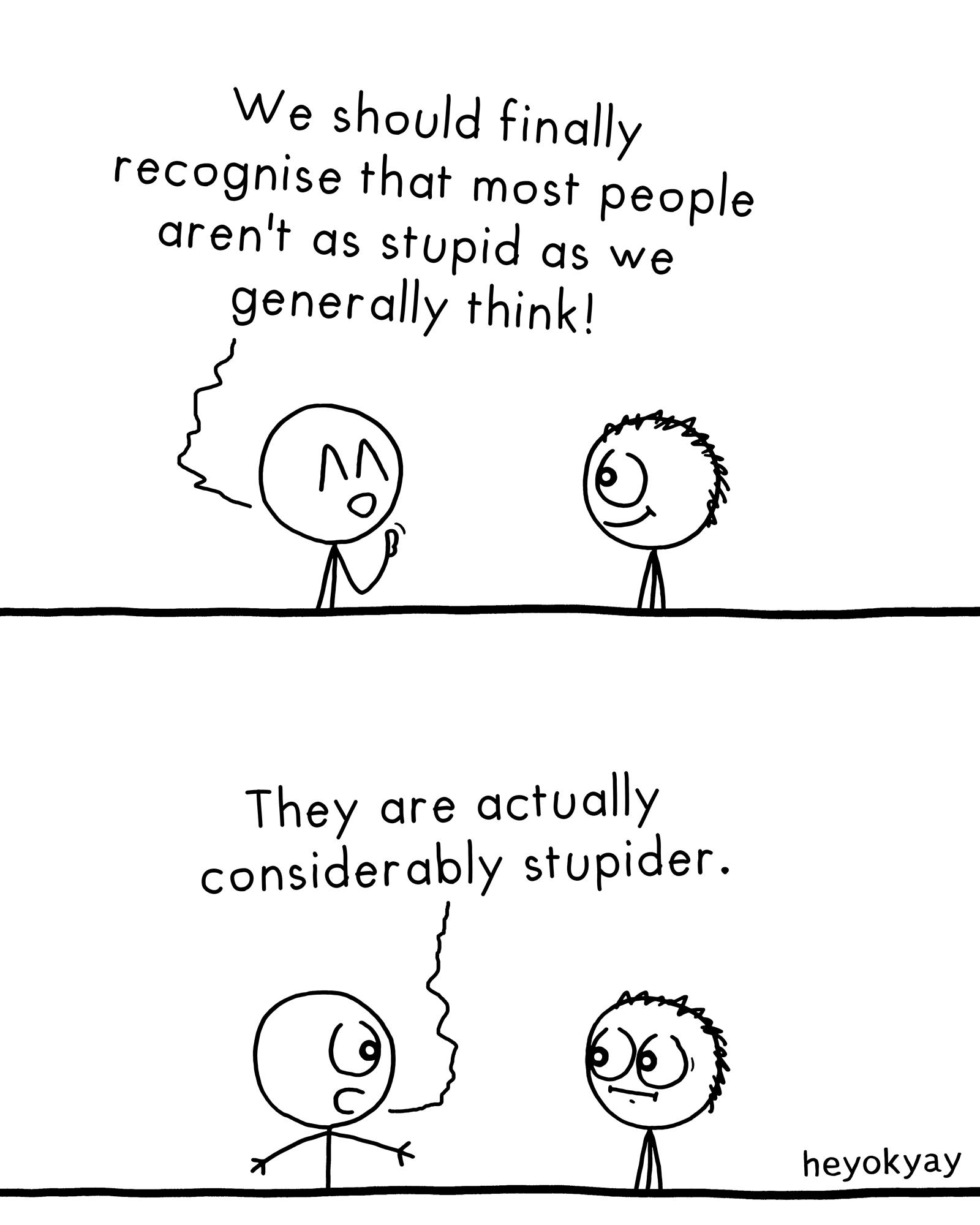 Most People heyokyay comic