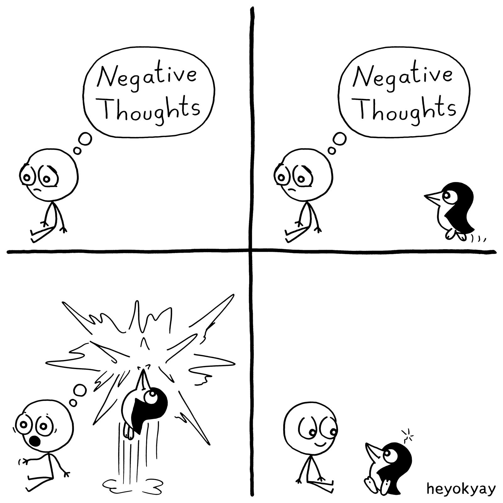 Negative Thoughts heyokyay comic