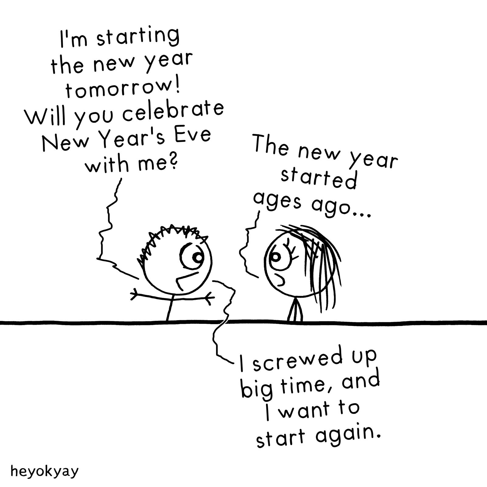 New Year heyokyay comic